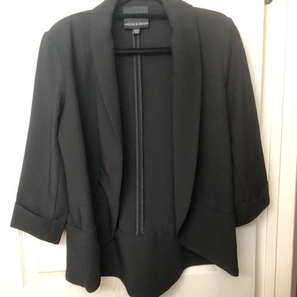 772c28506 Harlowe & Graham 3/4 length sleeve jacket